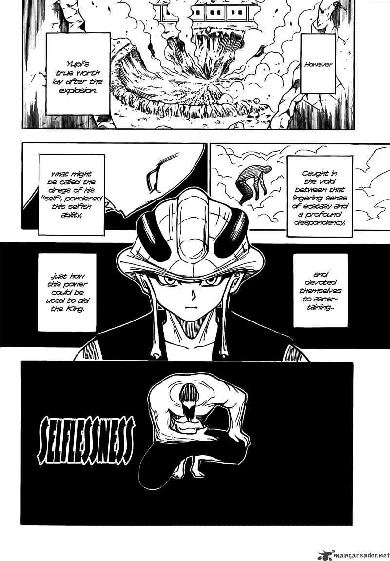 Hunter X Hunter Chapter 278  Online Free Manga Read Image 10
