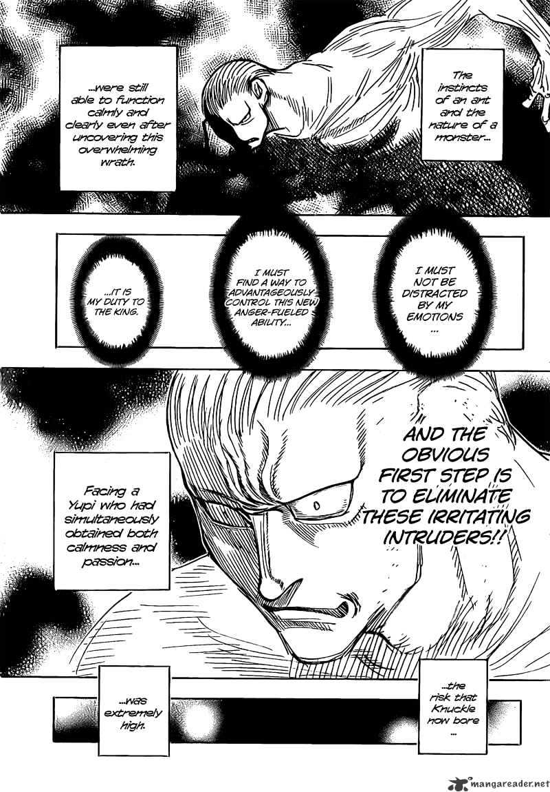 Hunter X Hunter Chapter 278  Online Free Manga Read Image 11