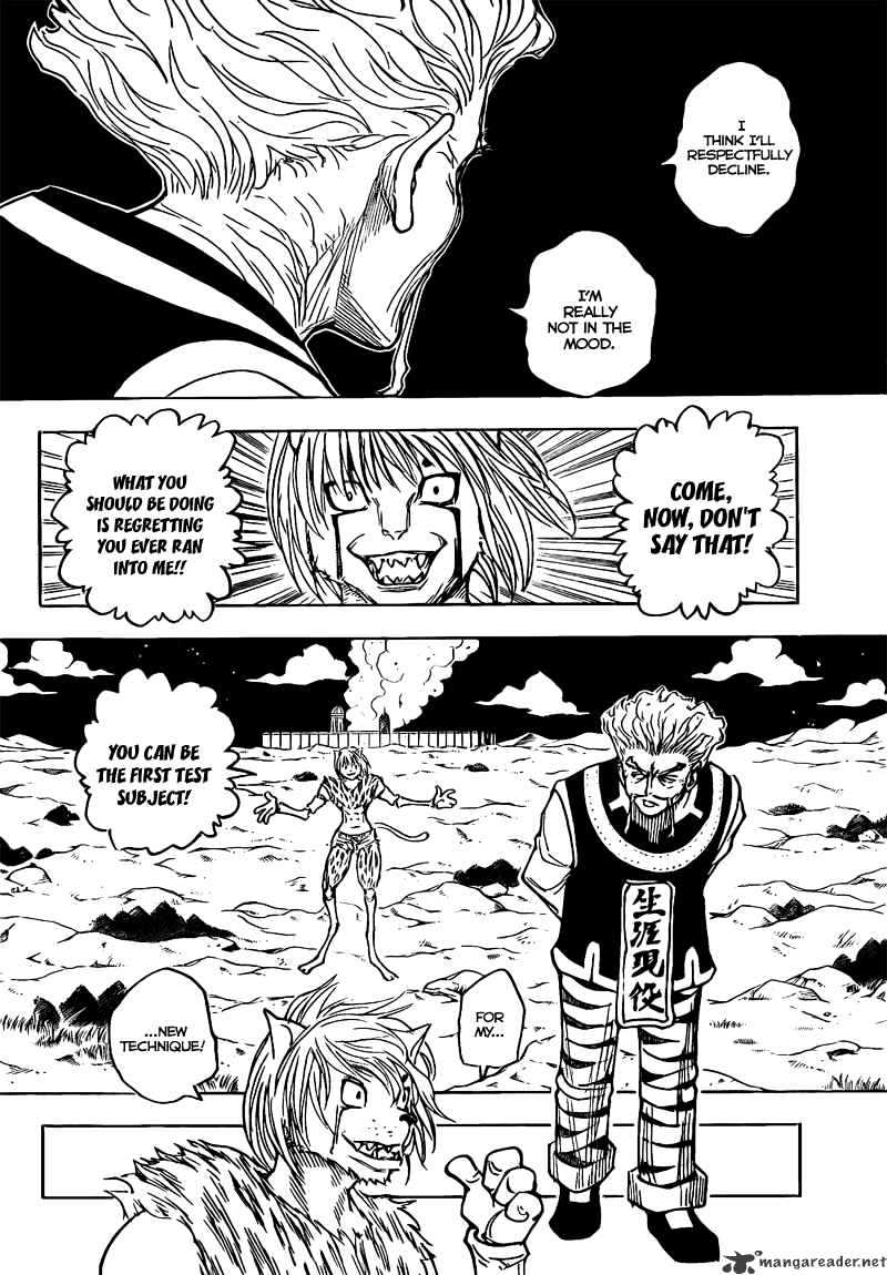 Hunter X Hunter Chapter 278  Online Free Manga Read Image 12