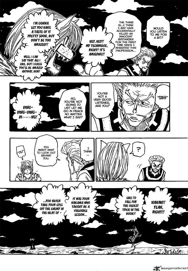 Hunter X Hunter Chapter 278  Online Free Manga Read Image 14