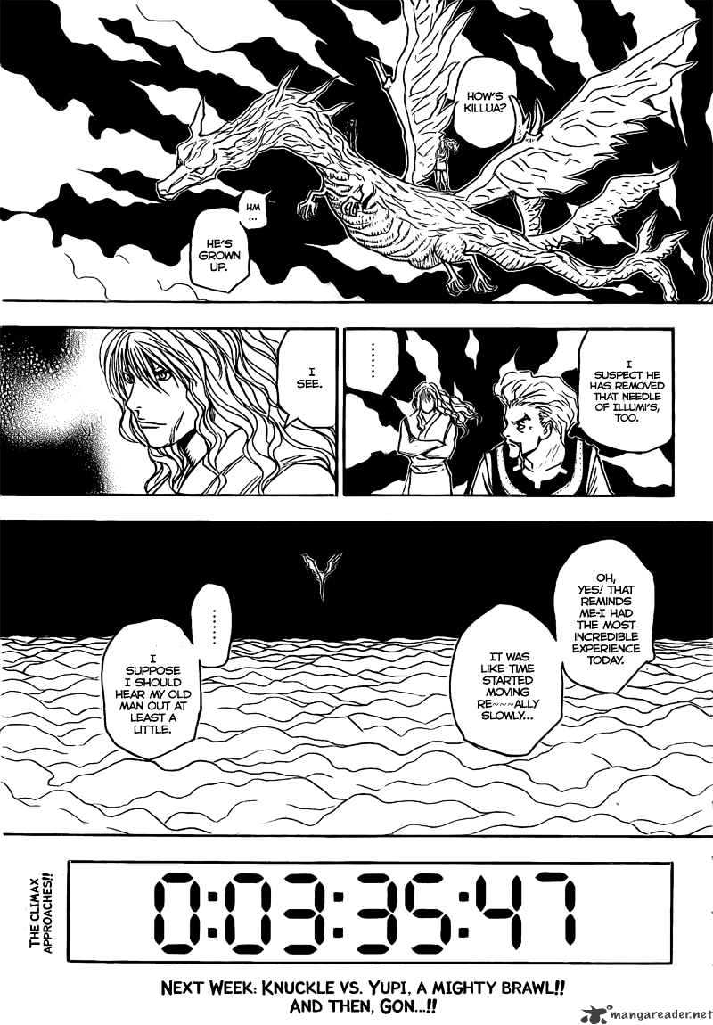 Hunter X Hunter Chapter 278  Online Free Manga Read Image 17