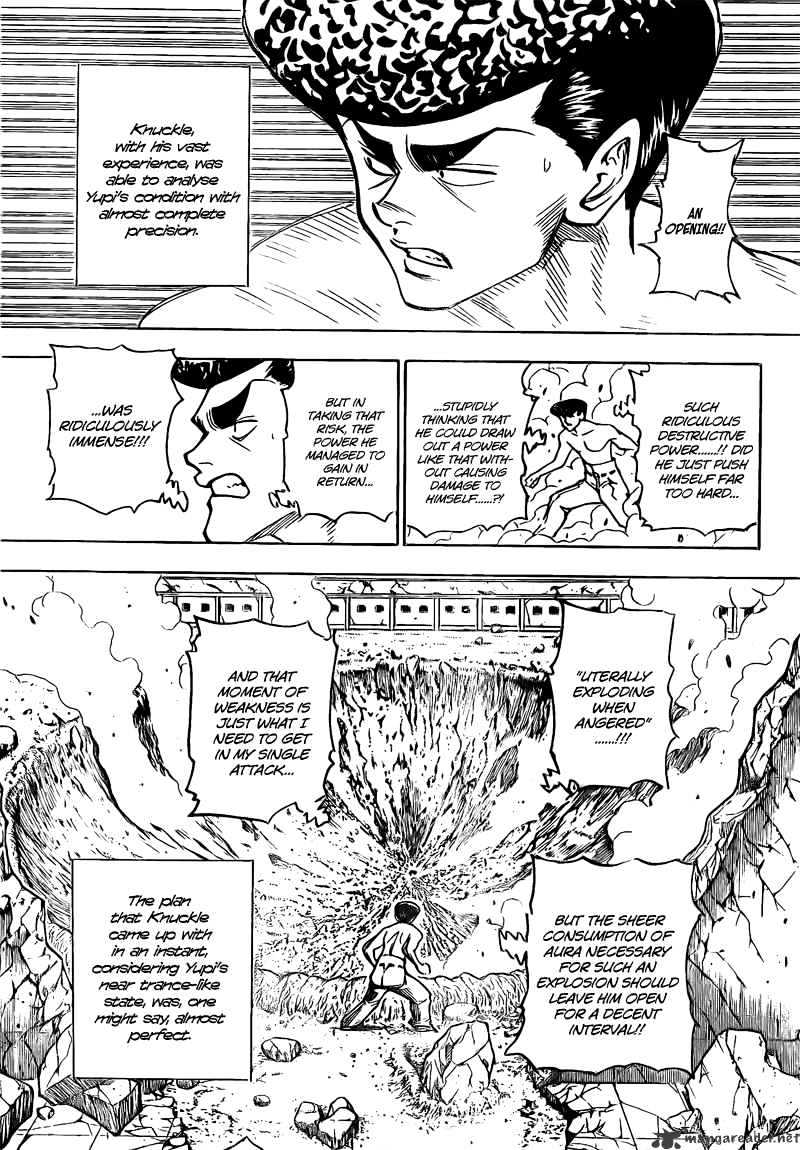 Hunter X Hunter Chapter 278  Online Free Manga Read Image 9