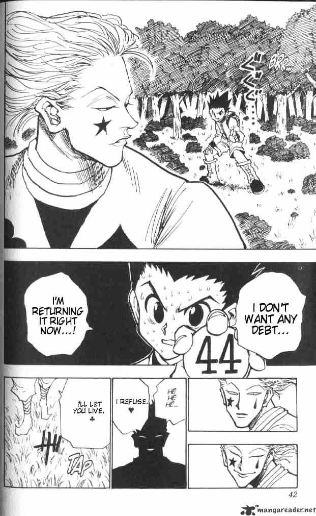 Hunter X Hunter Chapter 28  Online Free Manga Read Image 17