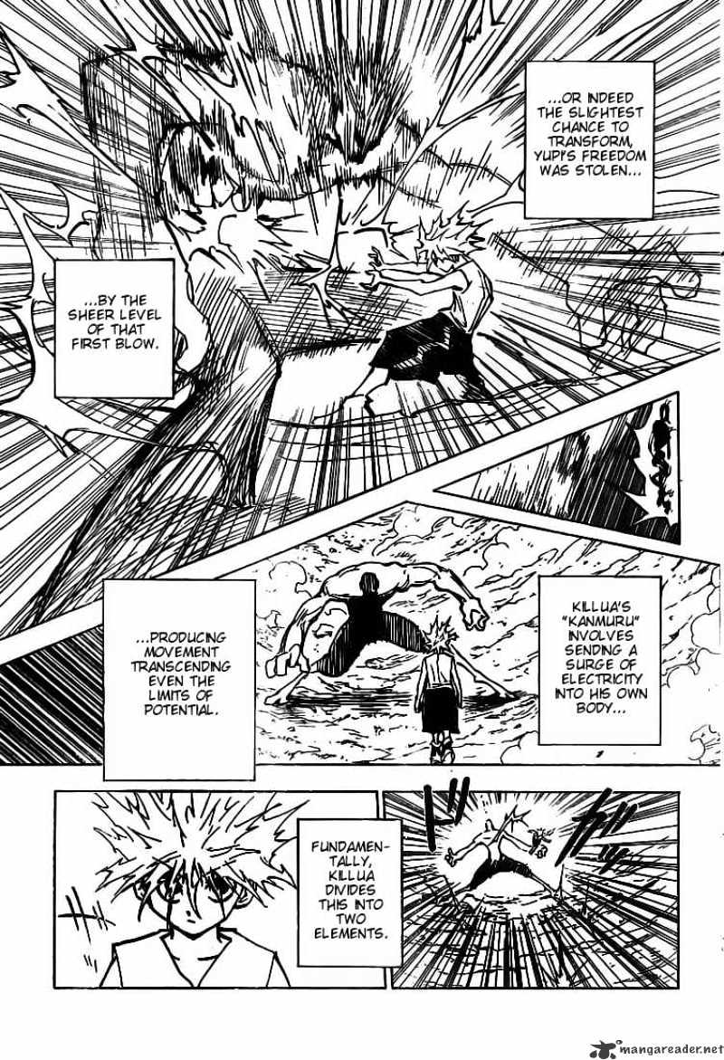 Hunter X Hunter Chapter 281  Online Free Manga Read Image 14