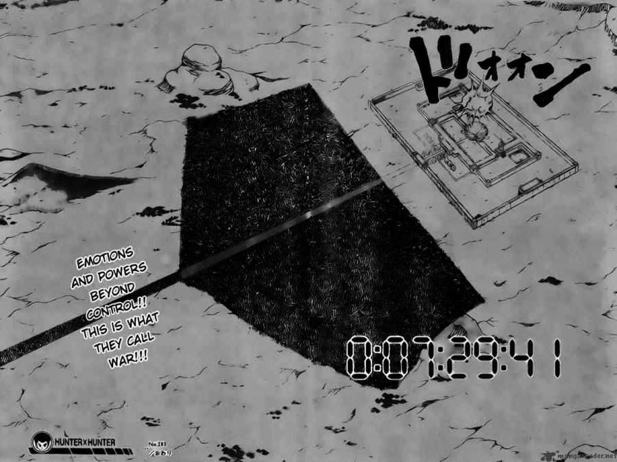 Hunter X Hunter Chapter 285  Online Free Manga Read Image 15