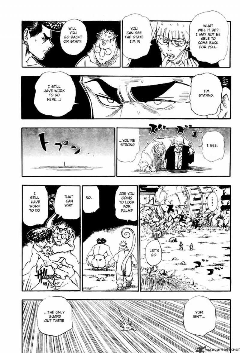 Hunter X Hunter Chapter 290  Online Free Manga Read Image 5