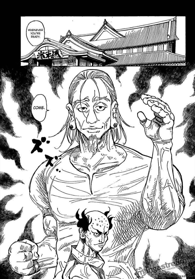 Hunter X Hunter Chapter 291  Online Free Manga Read Image 6