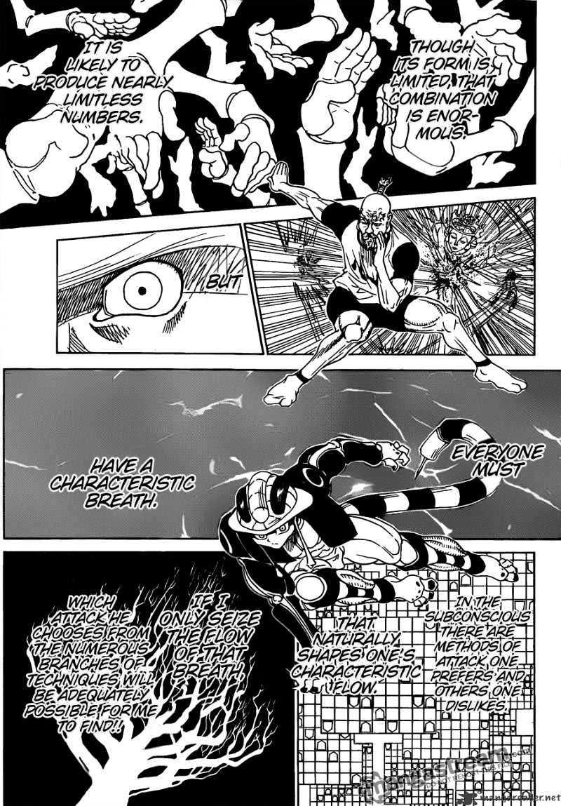 Hunter X Hunter Chapter 292  Online Free Manga Read Image 13