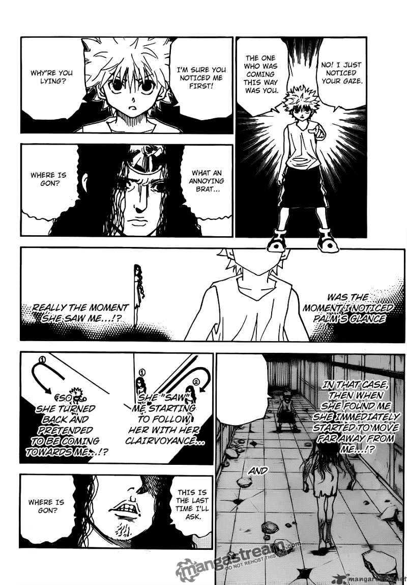 Hunter X Hunter Chapter 293  Online Free Manga Read Image 12
