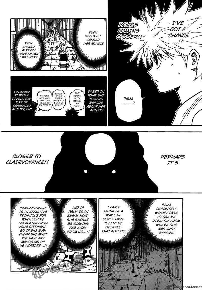 Hunter X Hunter Chapter 293  Online Free Manga Read Image 8