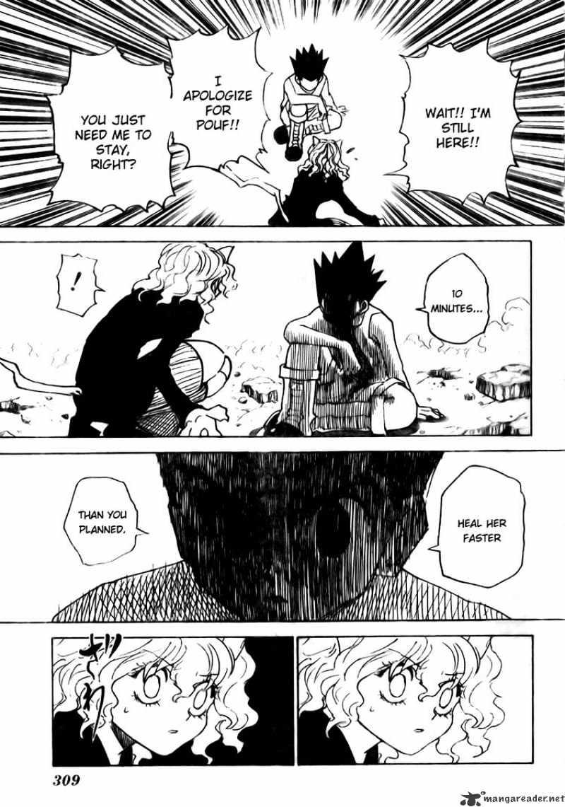 Hunter X Hunter Chapter 295  Online Free Manga Read Image 10