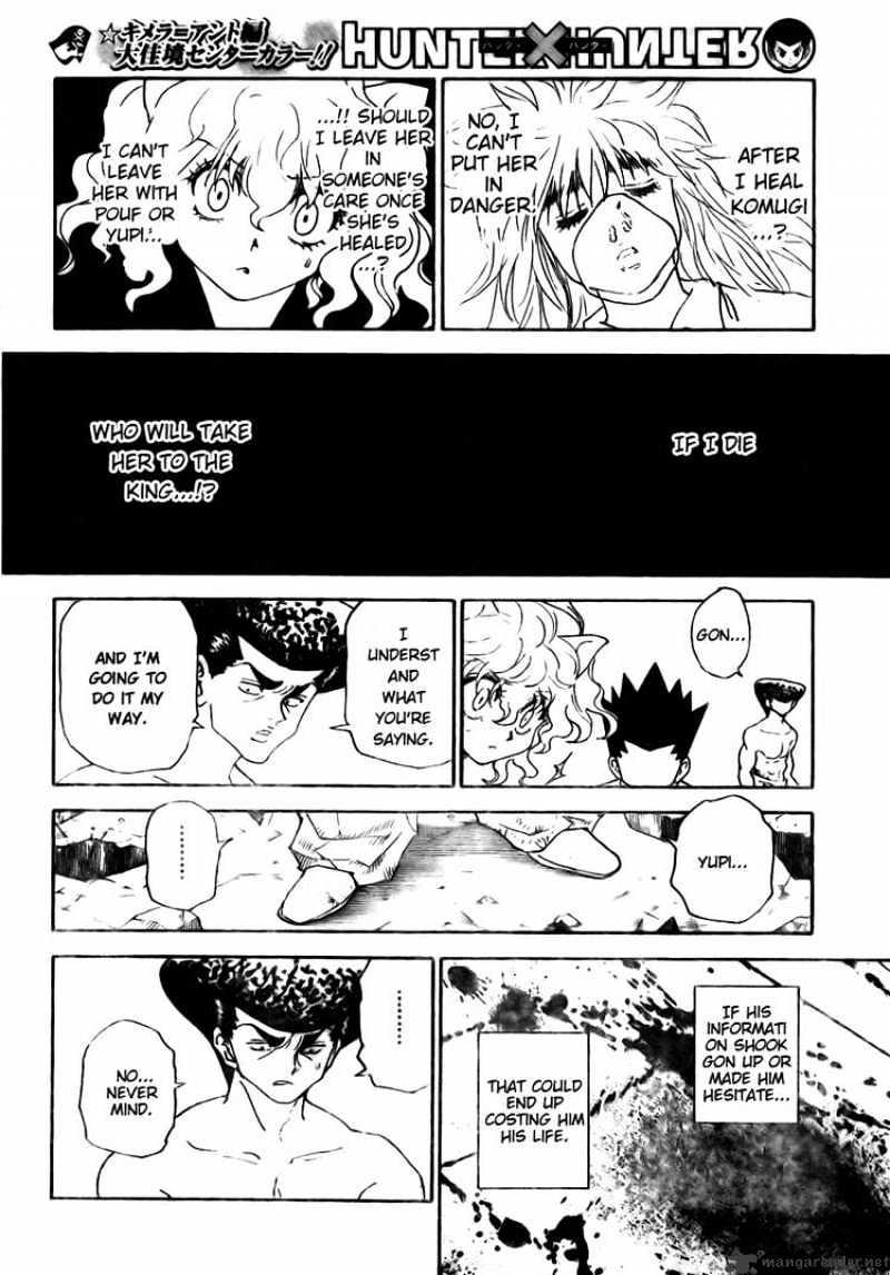 Hunter X Hunter Chapter 295  Online Free Manga Read Image 16
