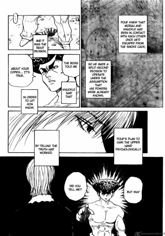 Hunter X Hunter Chapter 295  Online Free Manga Read Image 3