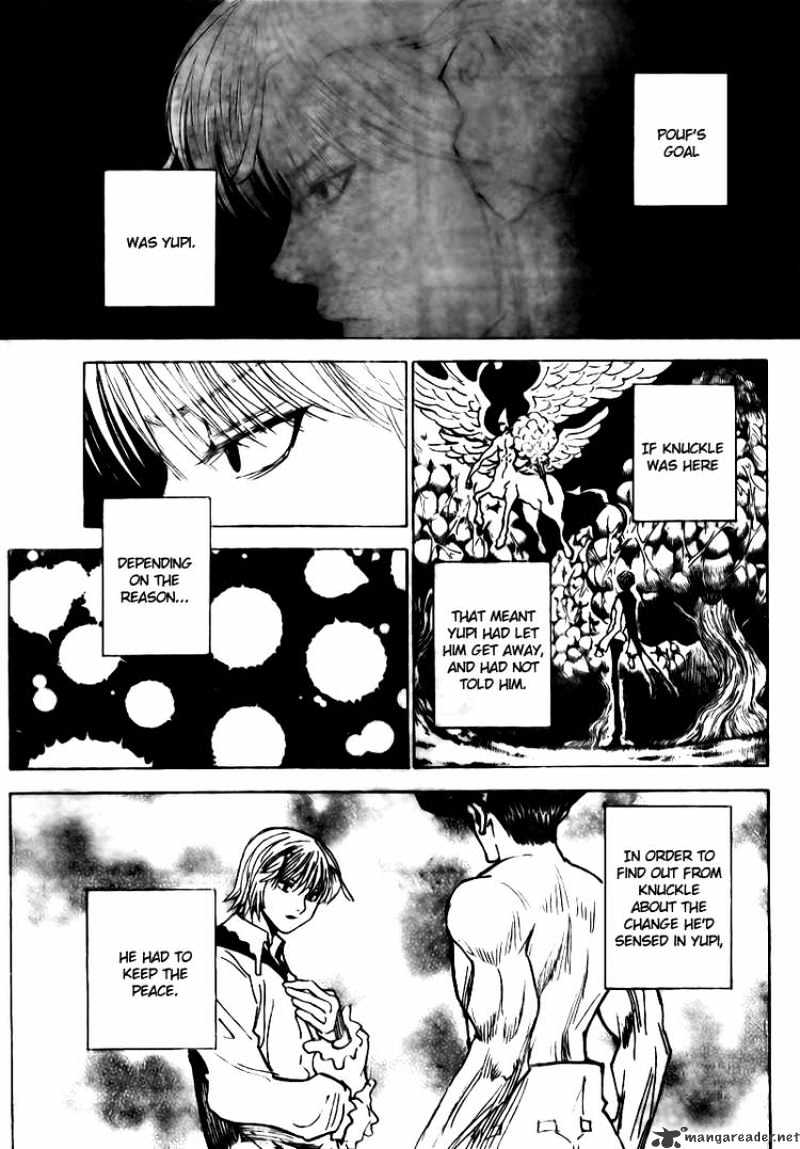 Hunter X Hunter Chapter 295  Online Free Manga Read Image 4