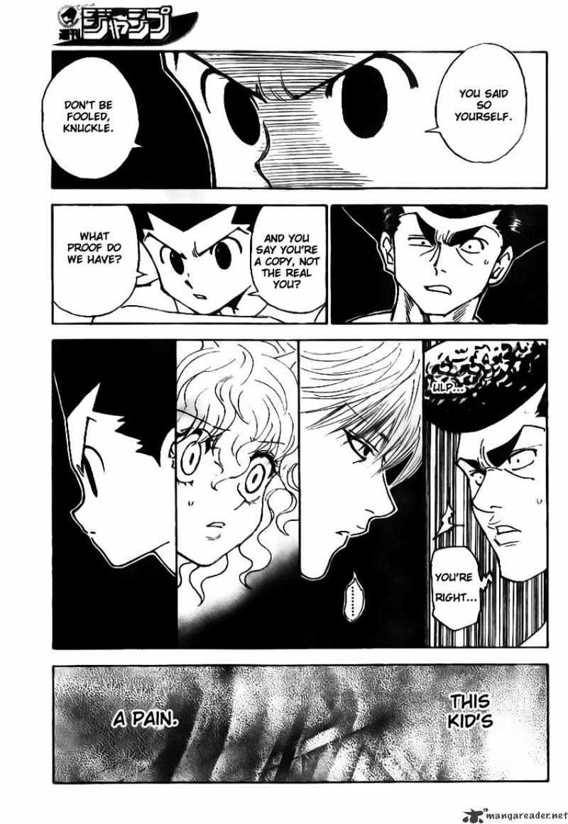 Hunter X Hunter Chapter 295  Online Free Manga Read Image 6