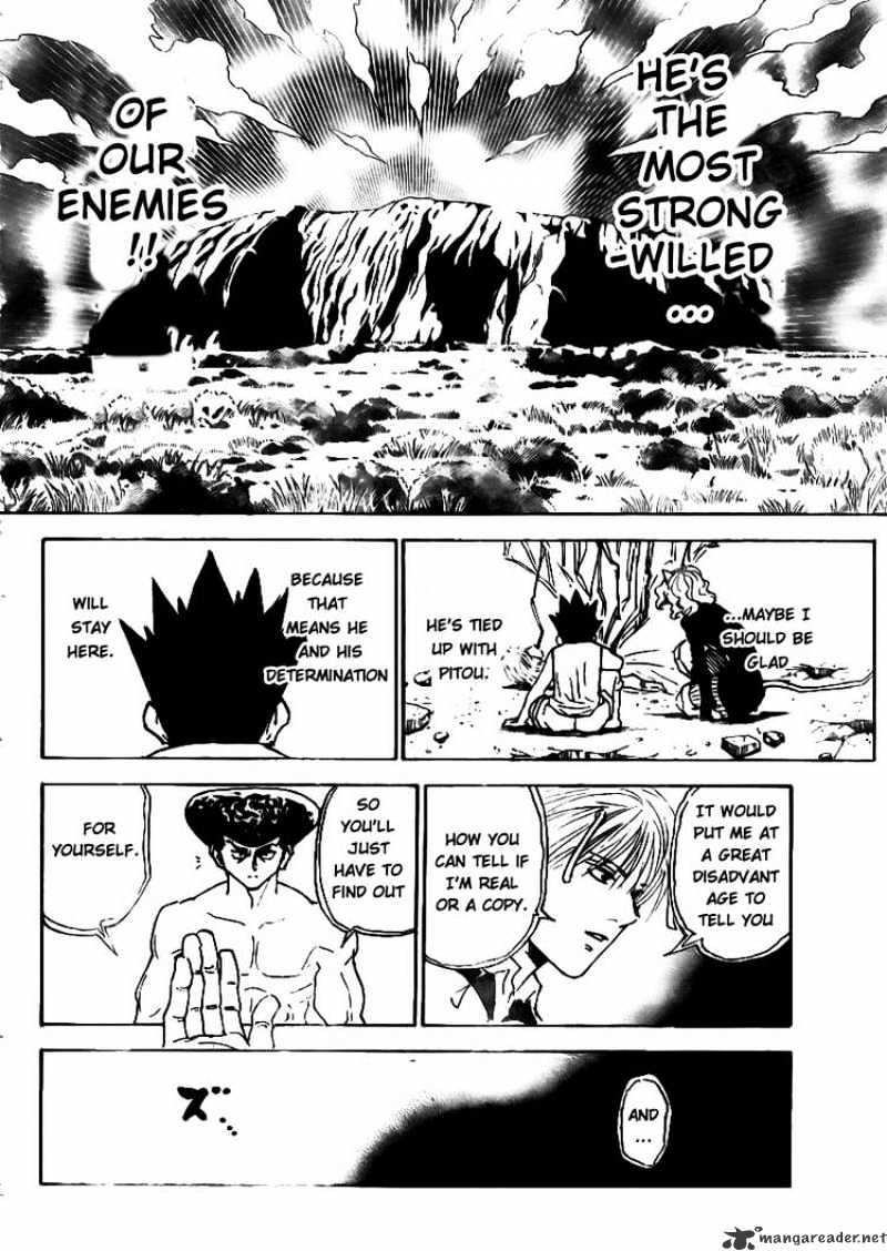 Hunter X Hunter Chapter 295  Online Free Manga Read Image 7