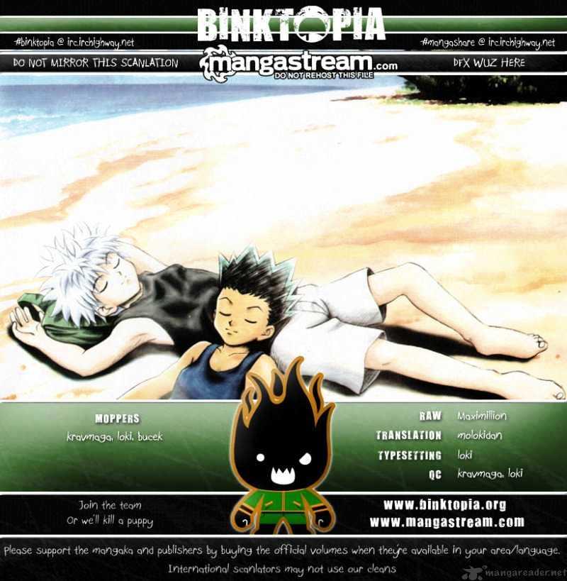 Hunter X Hunter Chapter 297  Online Free Manga Read Image 18