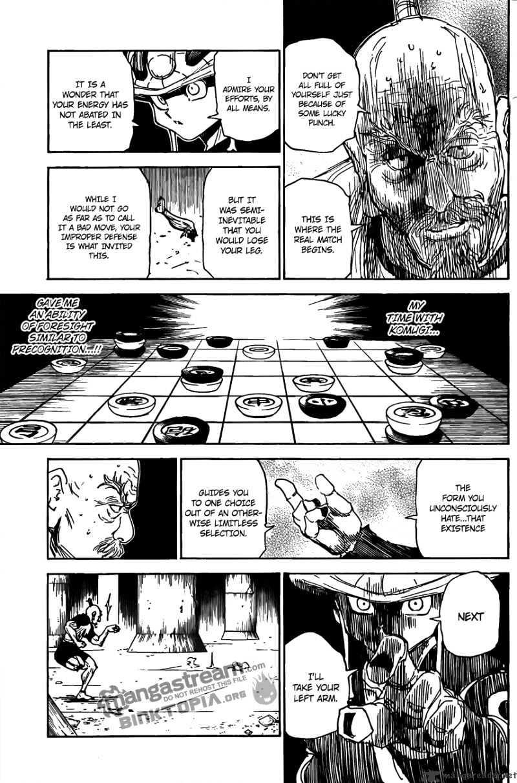 Hunter X Hunter Chapter 297  Online Free Manga Read Image 3