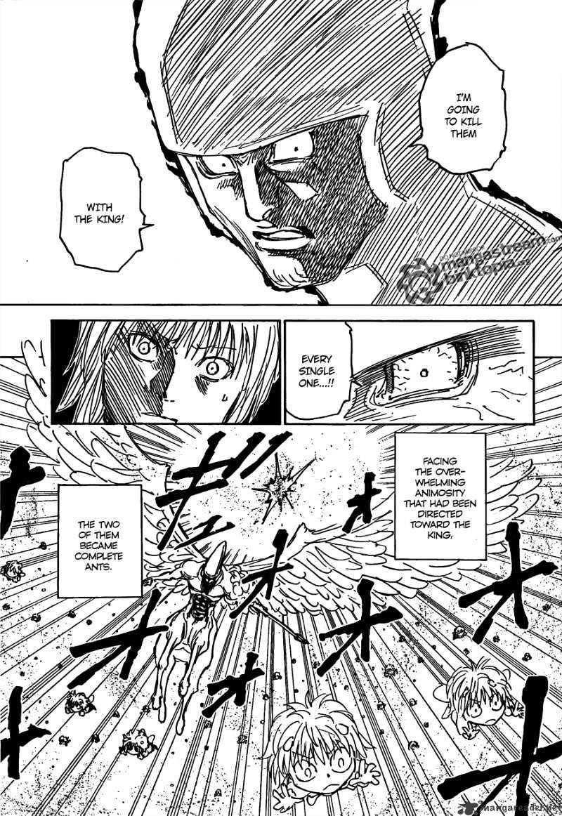 Hunter X Hunter Chapter 298  Online Free Manga Read Image 16