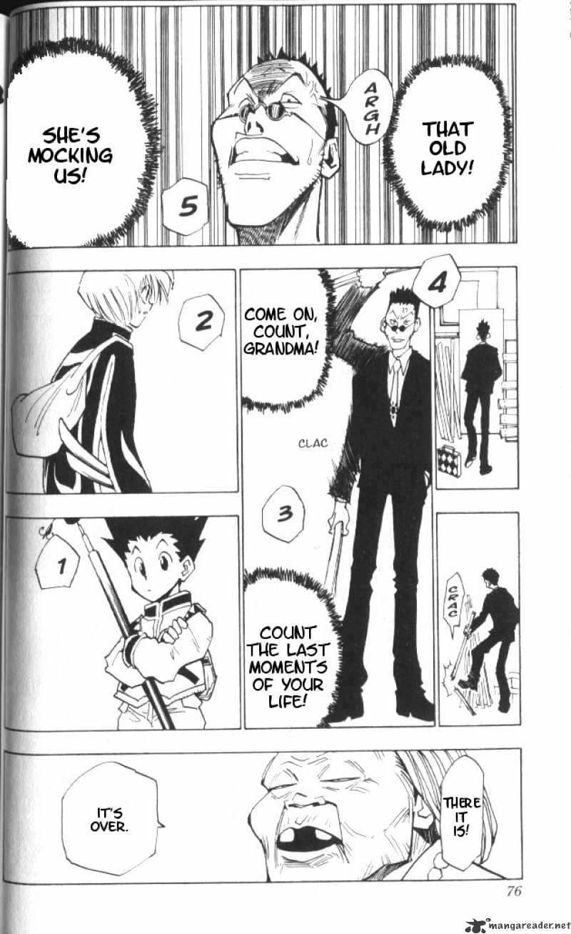 Hunter X Hunter Chapter 3  Online Free Manga Read Image 15