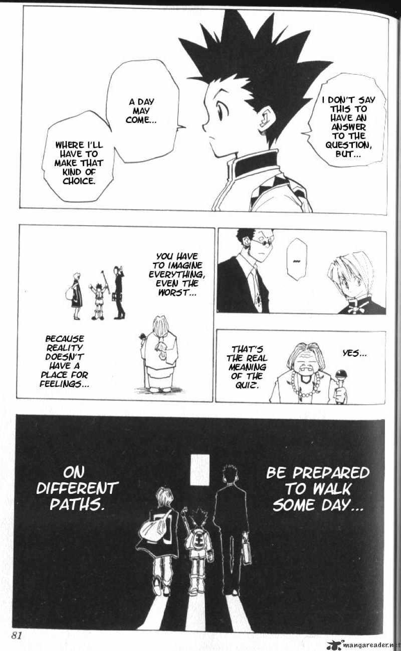Hunter X Hunter Chapter 3  Online Free Manga Read Image 20