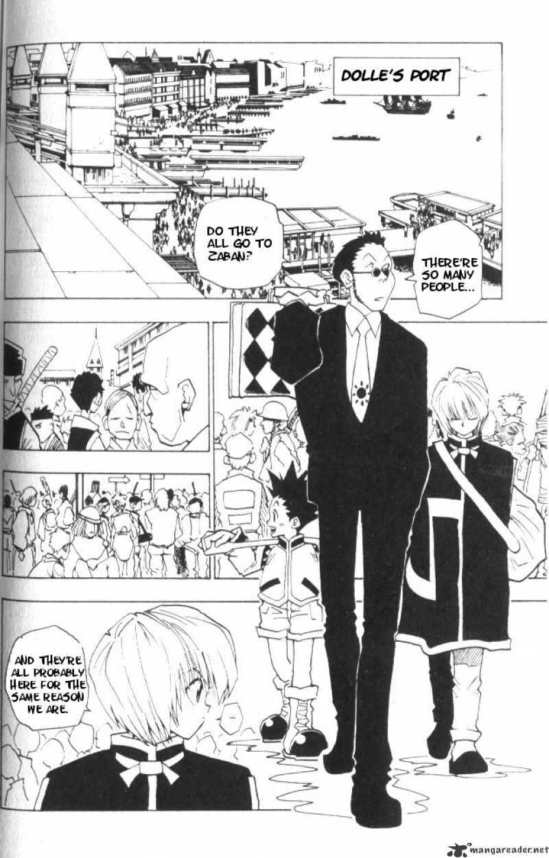 Hunter X Hunter Chapter 3  Online Free Manga Read Image 3