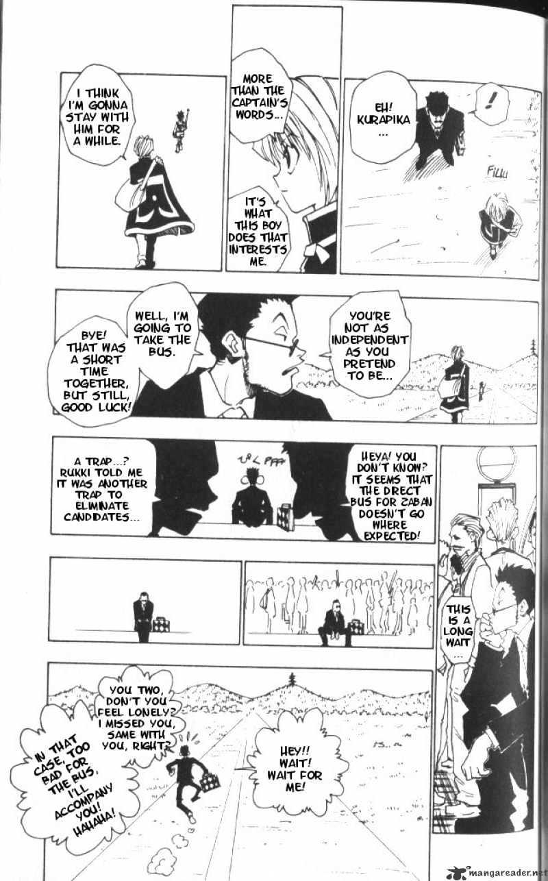 Hunter X Hunter Chapter 3  Online Free Manga Read Image 6