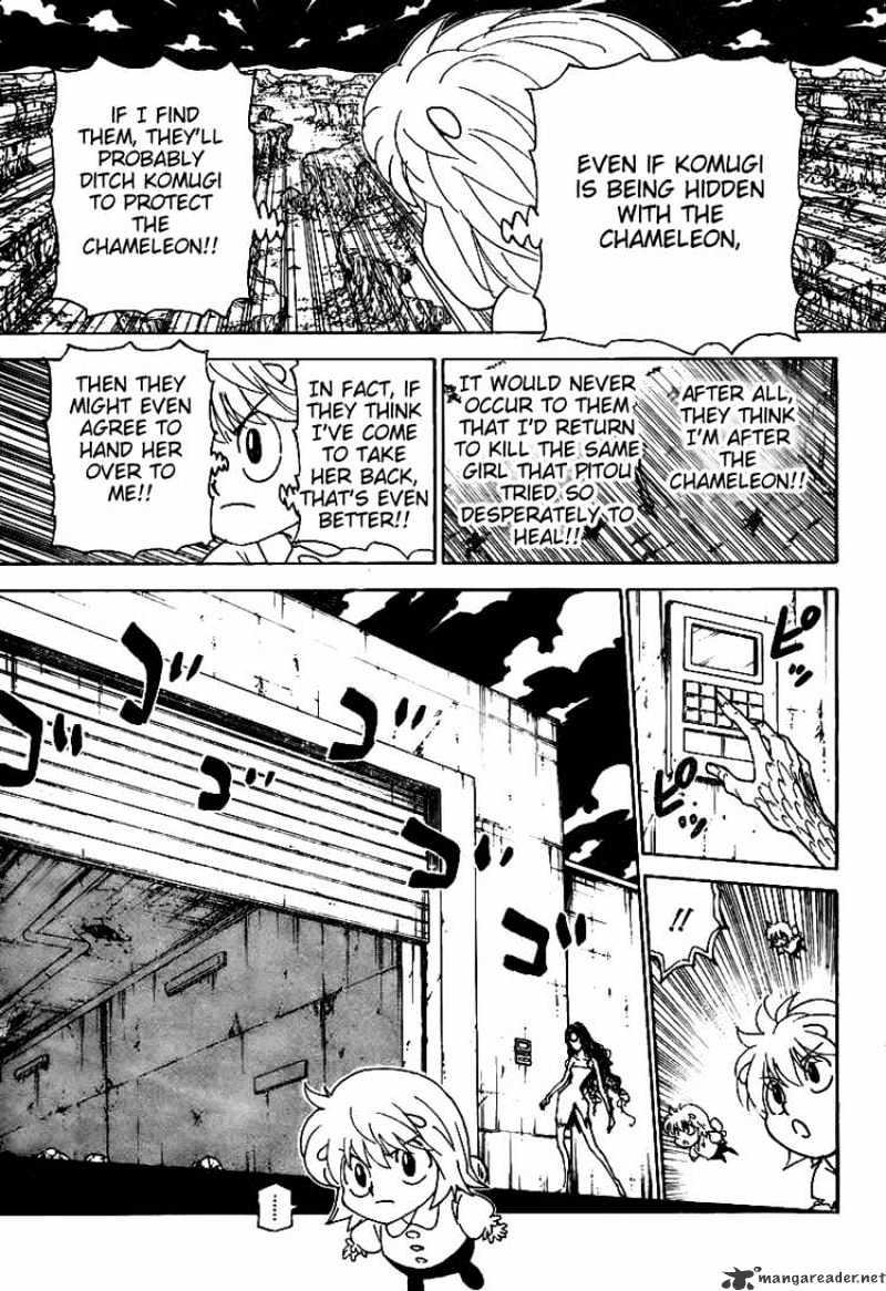 Hunter X Hunter Chapter 302  Online Free Manga Read Image 15