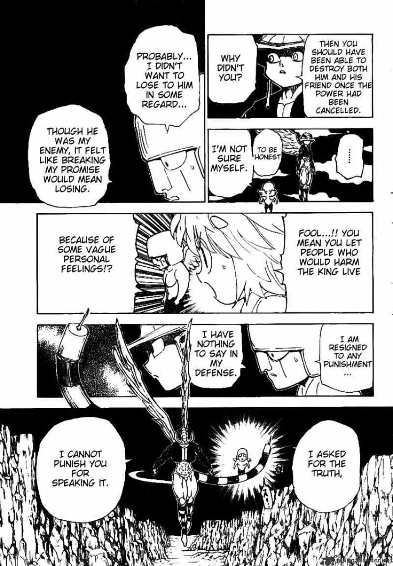 Hunter X Hunter Chapter 302  Online Free Manga Read Image 8