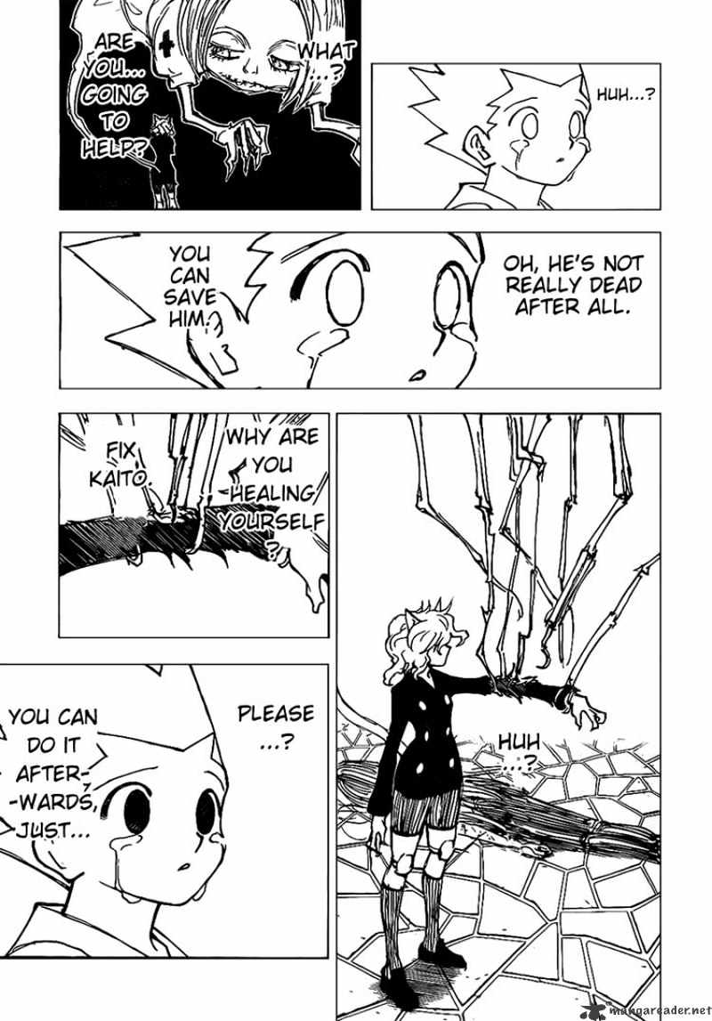 Hunter X Hunter Chapter 305  Online Free Manga Read Image 4