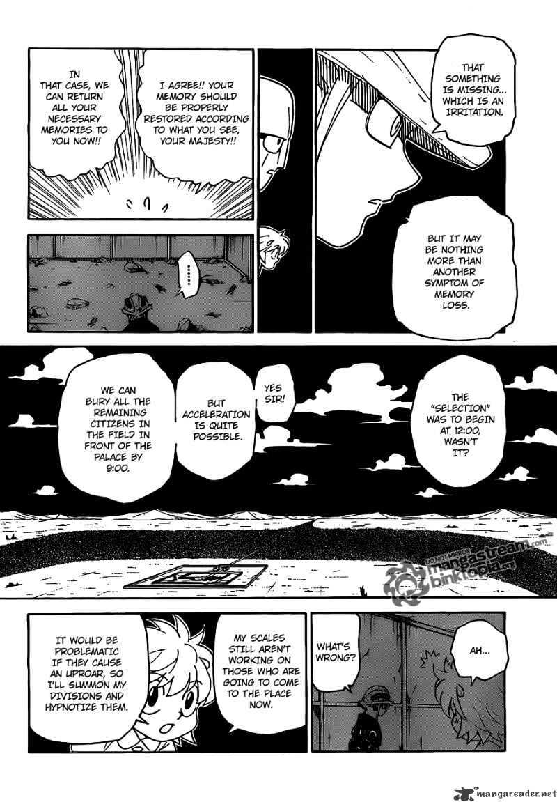 Hunter X Hunter Chapter 308  Online Free Manga Read Image 4