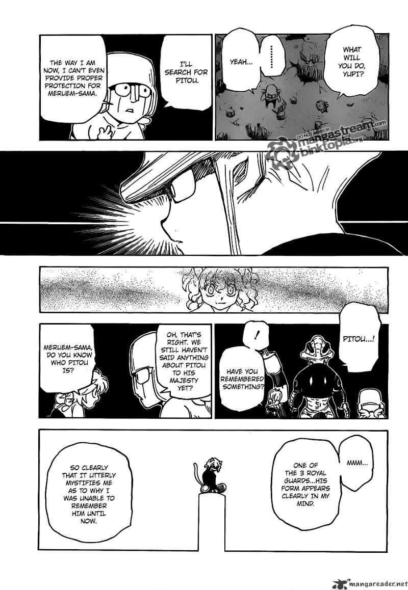 Hunter X Hunter Chapter 308  Online Free Manga Read Image 5