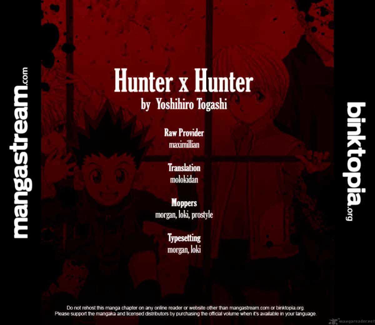 Hunter X Hunter Chapter 309  Online Free Manga Read Image 20