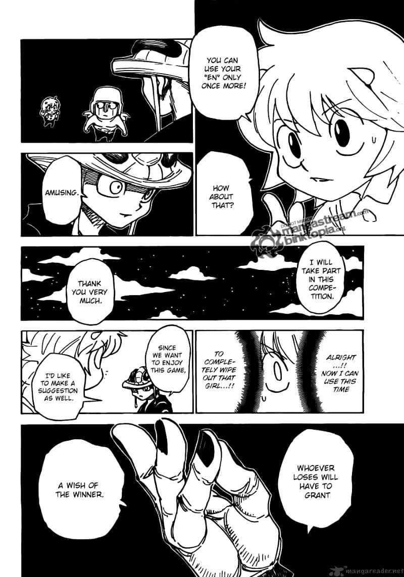 Hunter X Hunter Chapter 309  Online Free Manga Read Image 4