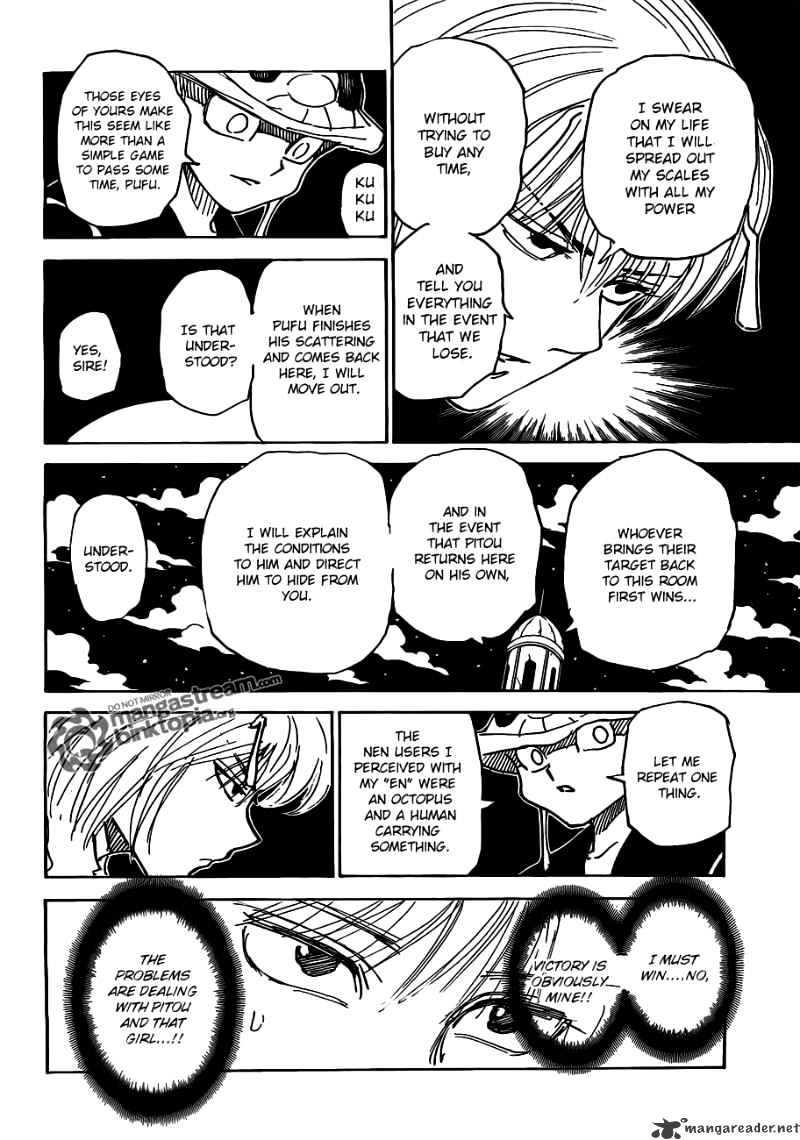 Hunter X Hunter Chapter 309  Online Free Manga Read Image 8
