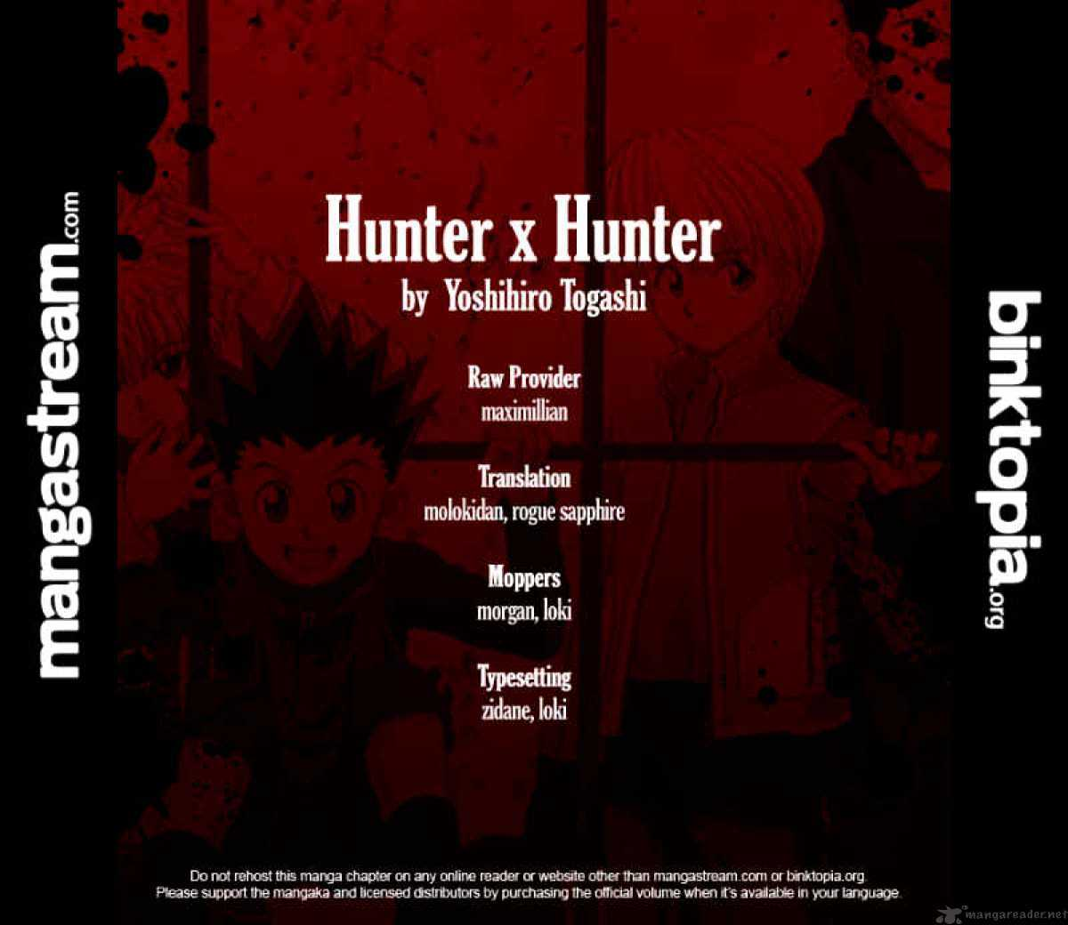 Hunter X Hunter Chapter 310  Online Free Manga Read Image 20