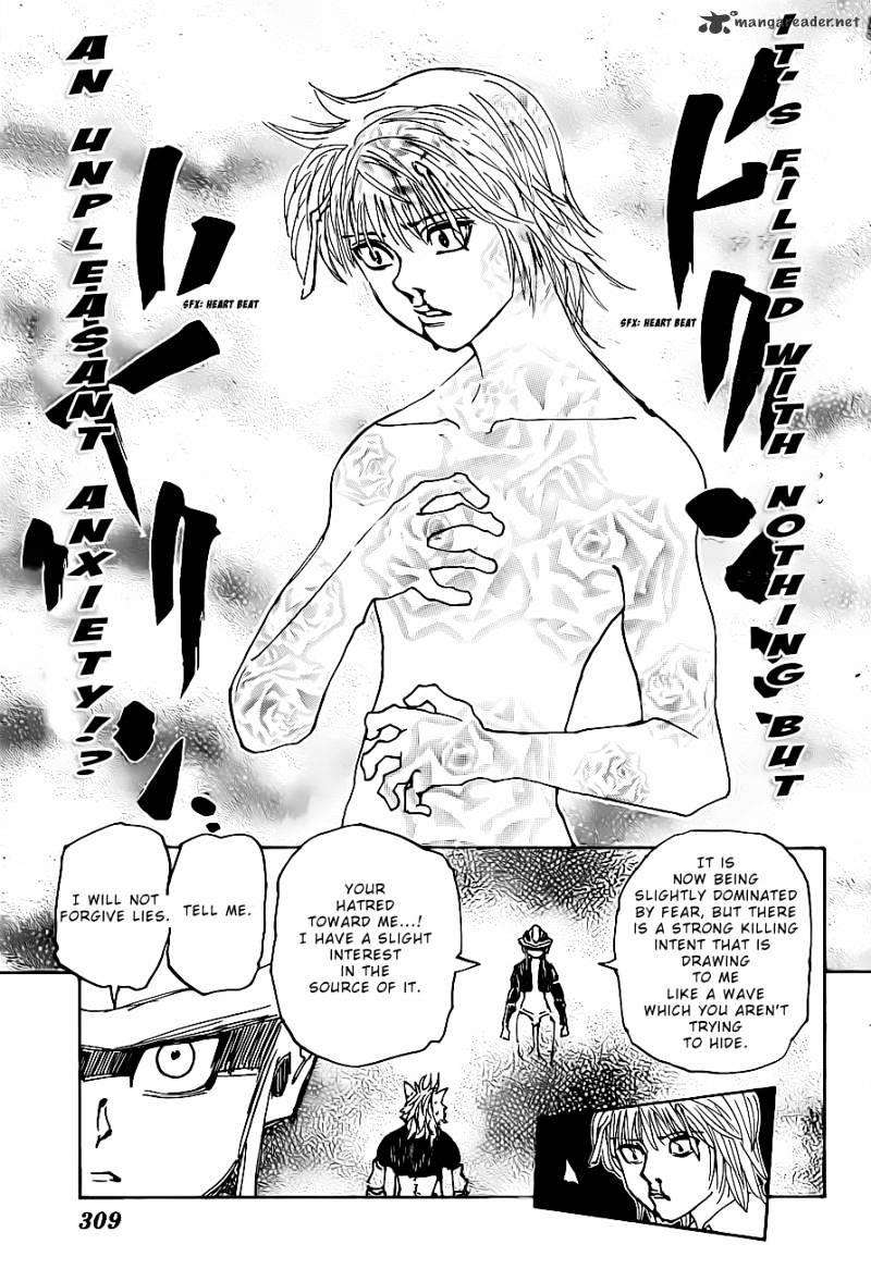 Hunter X Hunter Chapter 312  Online Free Manga Read Image 11
