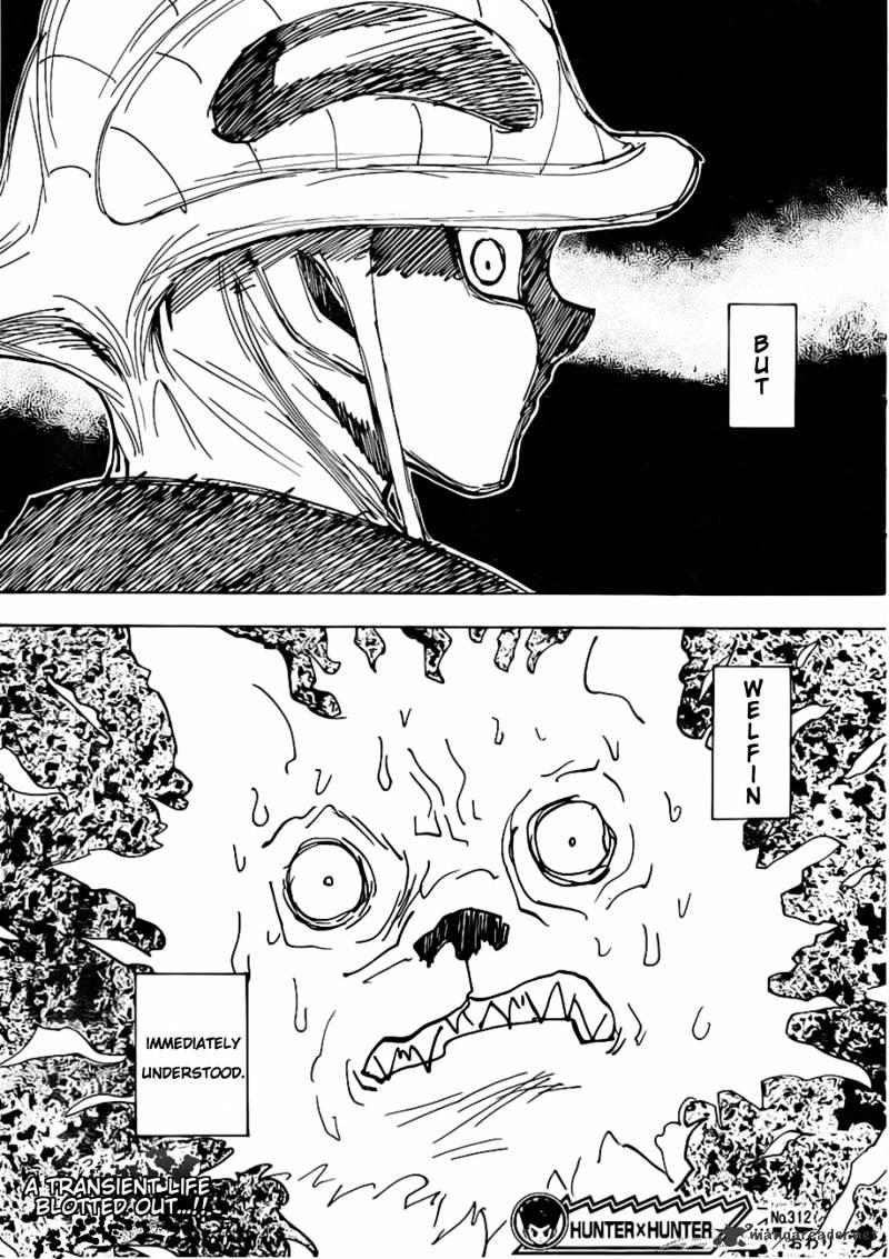 Hunter X Hunter Chapter 312  Online Free Manga Read Image 19