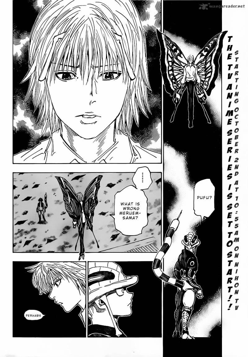 Hunter X Hunter Chapter 312  Online Free Manga Read Image 2
