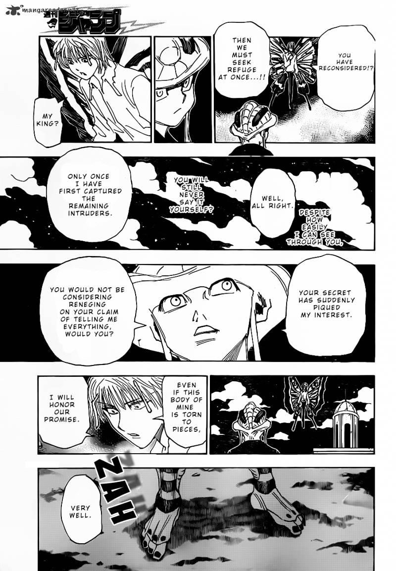 Hunter X Hunter Chapter 312  Online Free Manga Read Image 3