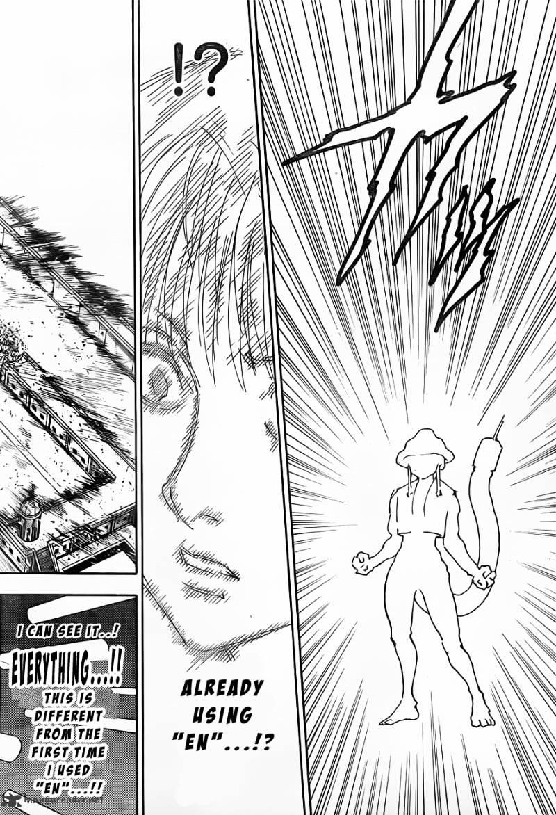Hunter X Hunter Chapter 312  Online Free Manga Read Image 4