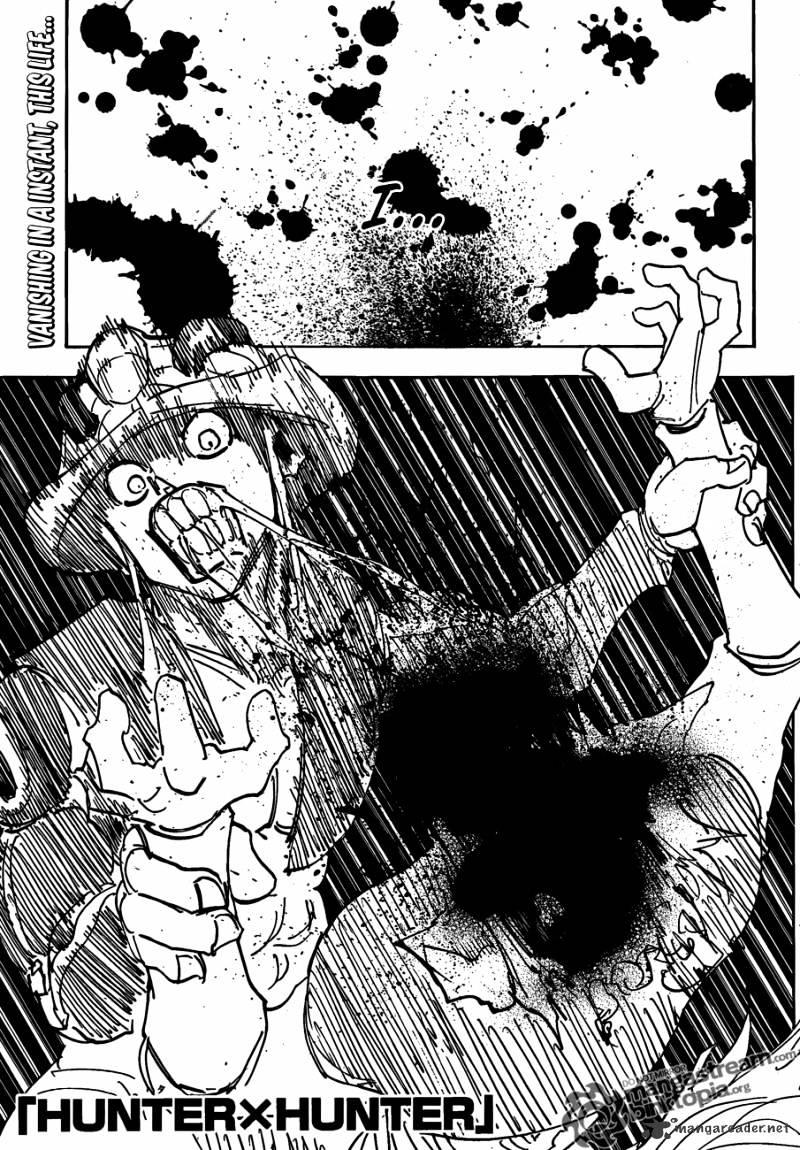 Hunter X Hunter Chapter 313  Online Free Manga Read Image 1