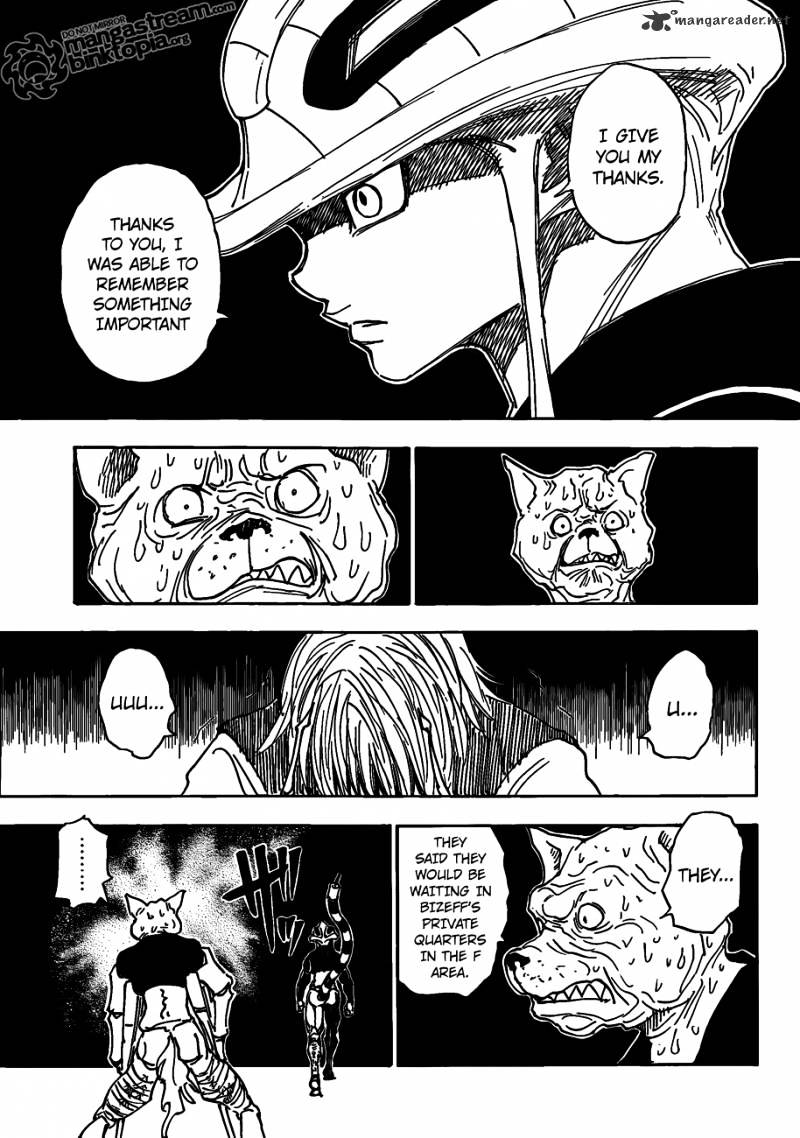 Hunter X Hunter Chapter 313  Online Free Manga Read Image 12