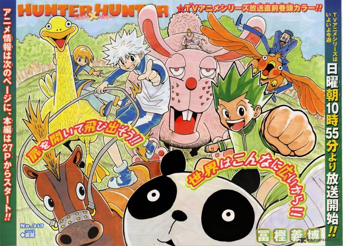 Hunter X Hunter Chapter 317  Online Free Manga Read Image 2