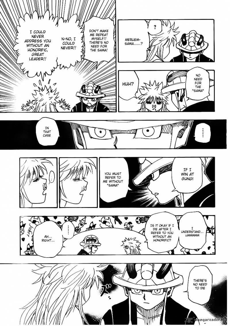 Hunter X Hunter Chapter 317  Online Free Manga Read Image 7