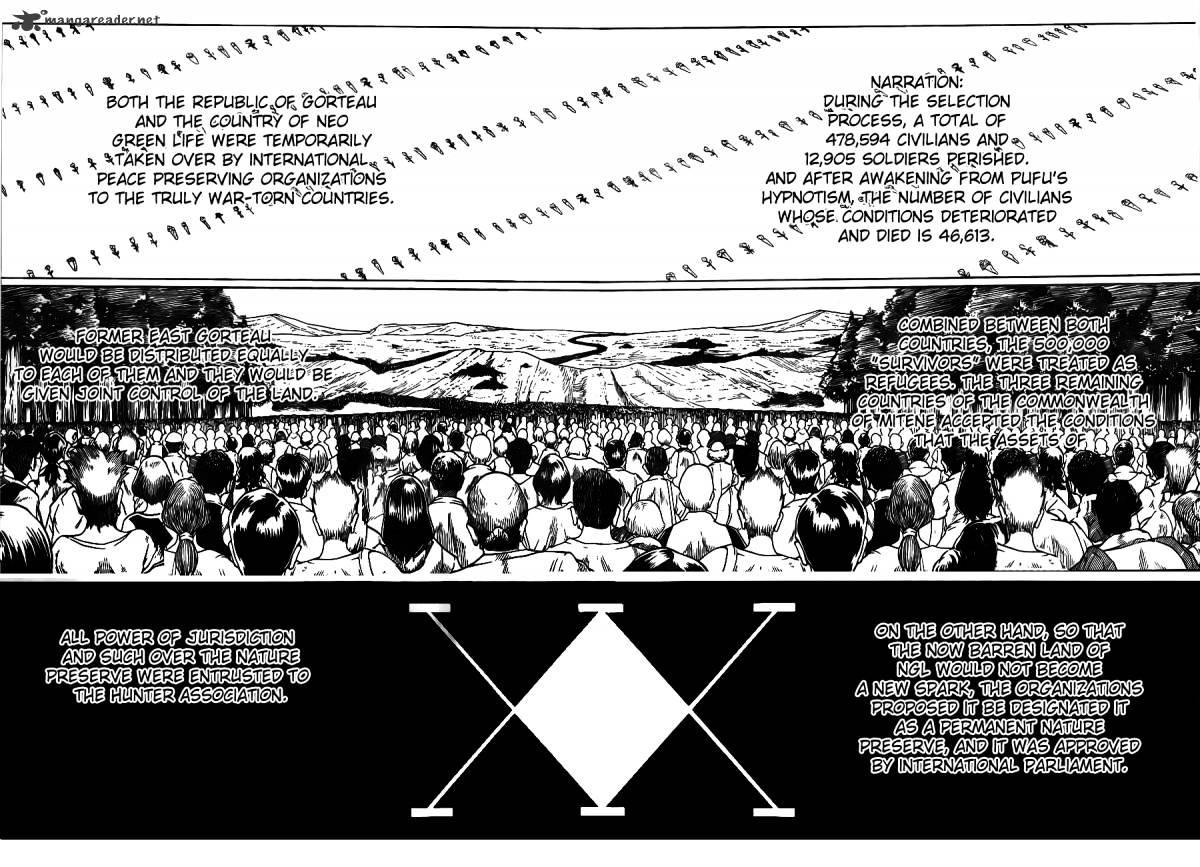 Hunter X Hunter Chapter 318  Online Free Manga Read Image 11
