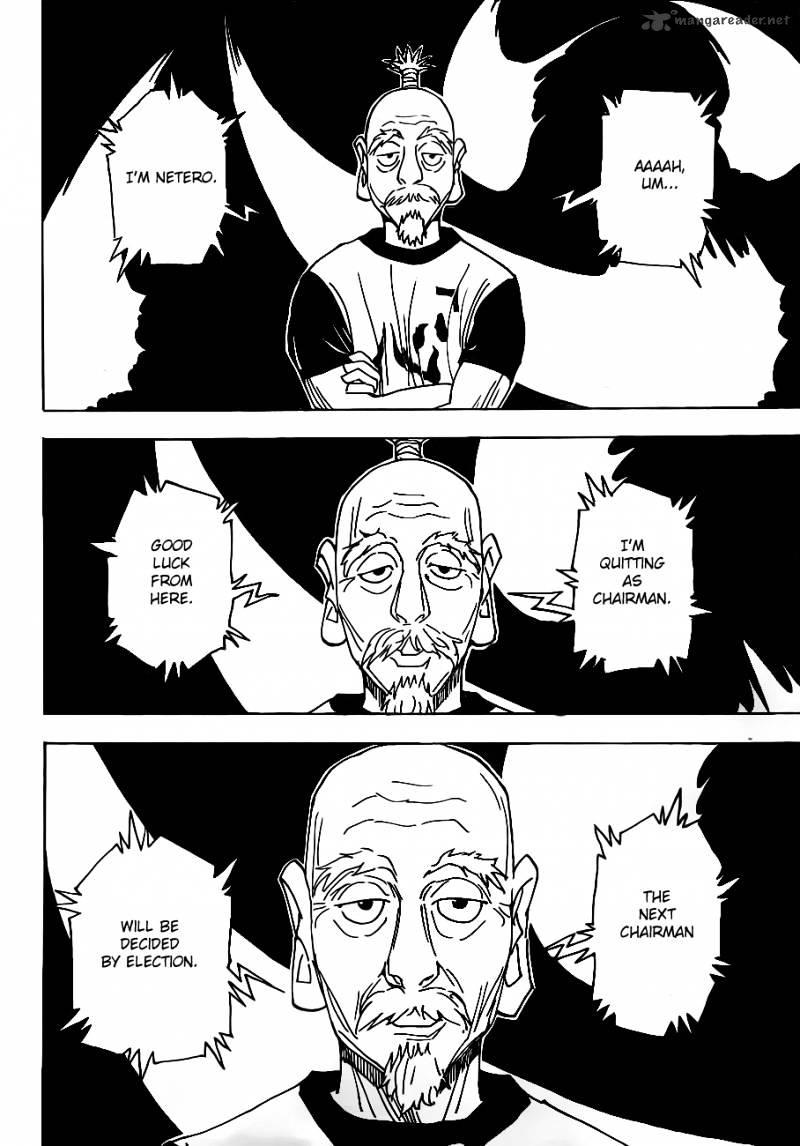 Hunter X Hunter Chapter 318  Online Free Manga Read Image 12