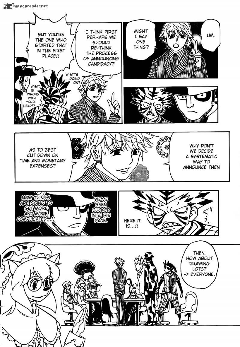 Hunter X Hunter Chapter 319  Online Free Manga Read Image 14