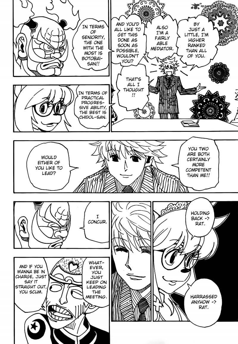 Hunter X Hunter Chapter 319  Online Free Manga Read Image 5