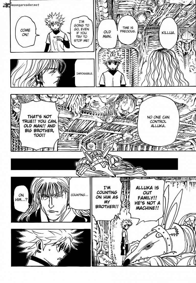 Hunter X Hunter Chapter 321  Online Free Manga Read Image 14